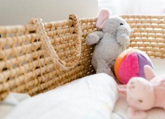 Crib And Toys